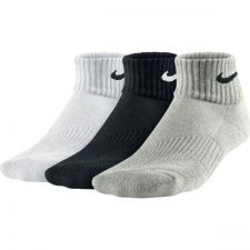 Skarpety Nike Cotton Cushion Quarter 3pak Junior SX4722-967